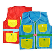 Kids Early Learning Toy Aids Basic Life Skills Buttons Training Vest