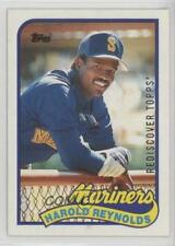 2017 Topps Rediscover Buybacks Silver #1989-580 Harold Reynolds Seattle Mariners