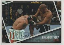 2009 Topps UFC Photo Finish #PF-7 Brandon Vera MMA Card