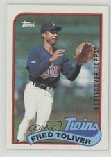 2017 Topps Rediscover Buybacks Bronze #1989-623 Freddie Toliver Minnesota Twins