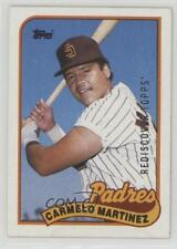 2017 Topps Rediscover Buybacks Silver 1989-449 Carmelo Martinez San Diego Padres