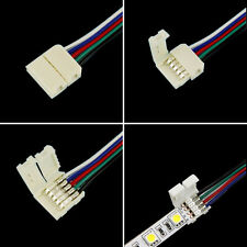 4Pin 5Pin RGB/RGBW Connectors Cable For 5050 RGB/RGBW LED Strip Light