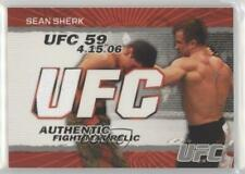 2009 Topps UFC Authentic Fight Mat Relic #FM-SS Sean Sherk MMA Card