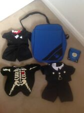 FABULOUS SELECTION OF BOYS BUILD A BEAR CLOTHES & BAG + CHILDS CARRYING BAG