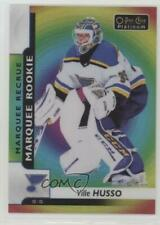 2017-18 O-Pee-Chee Platinum Rainbow Color Wheel #186 Marquee Rookies Ville Husso