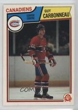 1983-84 O-Pee-Chee #185 Guy Carbonneau Montreal Canadiens RC Rookie Hockey Card