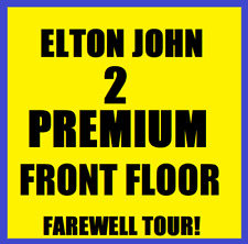 2 ELTON JOHN 11/9 FAREWELL YELLOW BRICK ROAD - FRONT FLOOR B MADISON SQUARE MSG