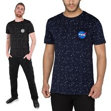 Alpha Industries Men's T-Shirt Starry T Top Men Shirt Nasa S to 3XL New