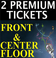 2 MAROON 5 PREMIUM FRONT CENTER FLOOR B 10/14 MADISON SQUARE GARDEN MSG NY
