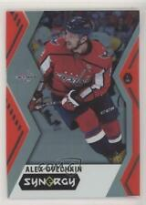2017-18 Upper Deck Synergy Red Code Unscratched #20 Alex Ovechkin Hockey Card