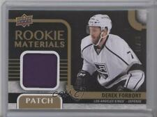 2015-16 Upper Deck Rookie Materials Patch #RM-DF Derek Forbort Los Angeles Kings