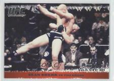 2009 Topps UFC Round 1 #9 Sean Sherk vs Tiki Ghosn MMA Card