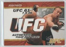 2009 Topps UFC Authentic Fight Mat Relic Gold #FM-JN Josh Neer MMA Card
