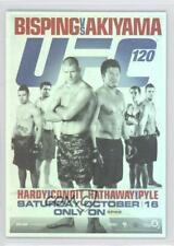 2011 Topps UFC Moment of Truth Fight Poster Review #FPR-UFC120 Michael Bisping