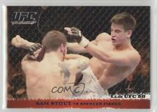 2009 Topps UFC Round 1 Silver #39 Sam Stout vs Spencer Fisher MMA Card