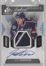 2015-16 SP Game-Used Inked Rookie Sweaters Patch #IRS-JA Josh Anderson Auto Card