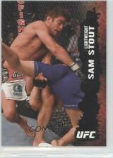 2009 Topps UFC Round 2 Silver #16 Sam Stout MMA Card