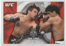 2012 Topps UFC Bloodlines Country Flag #25 Sam Stout MMA Card