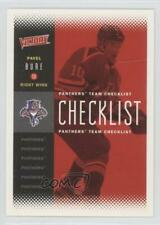 2000-01 Upper Deck Victory #100 Pavel Bure Florida Panthers Hockey Card