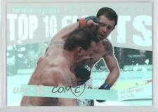 2010 Topps UFC Main Event Top 10 Fights of 2009 #TT0930 Nate Quarry Tim Credeur