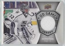 2016-17 Upper Deck UD Game Jersey #GJ-JQ Jonathan Quick Los Angeles Kings Card