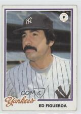1978 Topps Burger King Restaurant New York Yankees #5 Ed Figueroa Baseball Card