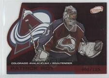 2002-03 Pacific Atomic Red #26 Patrick Roy Colorado Avalanche Hockey Card