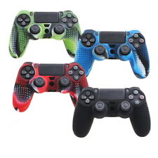 Camouflage Silicone Rubber Skin Grip Cover Case for PlayStation4 PS4 Controller