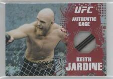 2010 Topps UFC Main Event Authentic Cage Relics #CR-KJ Keith Jardine MMA Card