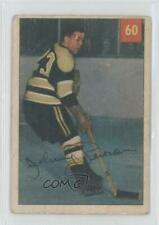 1954-55 Parkhurst #60.2 Johnny Peirson (Premium Back) Boston Bruins Hockey Card