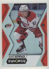 2017 Upper Deck Synergy Red Code Unscratched 36 Jeff Skinner Carolina Hurricanes