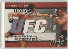 2009 Topps UFC Fight Mat Relics Black #FM-KF Kenny Florian MMA Card