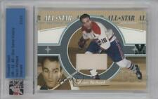 2001 In the Game Ultimate Memorabilia 2nd Edition HERI Henri Richard Hockey Card