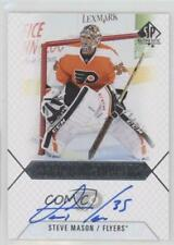 2015 SP Authentic Scripted Stoppers #SS-SM Steve Mason Philadelphia Flyers Auto
