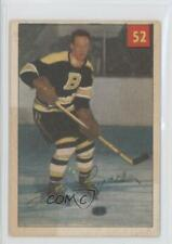 1954-55 Parkhurst #52.2 Hal Laycoe (Premium Back) Boston Bruins Hockey Card