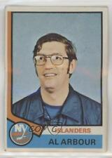1974-75 Topps #91 Al Arbour New York Islanders Hockey Card