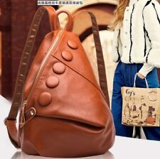 Genuine Real Cow Leather Backpack Luxury Women's Travel Bag Fashion Lady Handbag