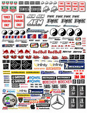 1:18 TUNER DECALS FOR DIECAST AND MODEL CARS