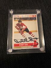 Bobby Orr '76 Canada Cup Autographed Card