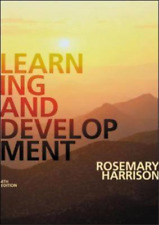 Learning and Development, Rosemary Harrison, Used; Good Book