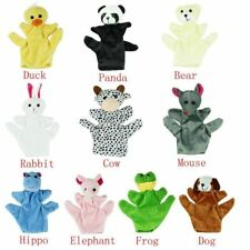 10 Patterns Puppets Cute Big Size Animal Glove Puppet Hand Dolls Plush Toy Baby