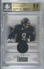 2011 Panini Playbook Grass Roots Materials #66 Jim McMahon BGS 9.5 GEM MINT Card