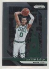 2018-19 Panini Prizm #118 Jayson Tatum Boston Celtics Basketball Card