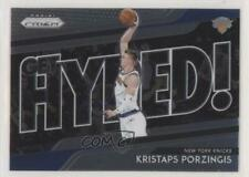 2018-19 Panini Prizm Get Hyped! #3 Kristaps Porzingis New York Knicks Card