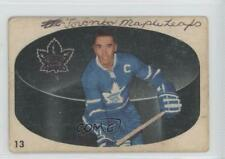1962-63 Parkhurst #13 George Armstrong Toronto Maple Leafs Hockey Card