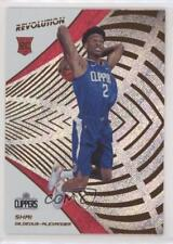 2018 Panini Revolution #103 Shai Gilgeous-Alexander Los Angeles Clippers RC Card