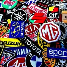 Select Patch Sponsor Racing Car Biker Motorcycles Embroidered Iron On Sew Logo