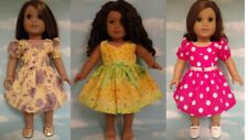 """18"""" Doll Dress fits 18 inch American Girl Doll Clothes 68abc"""