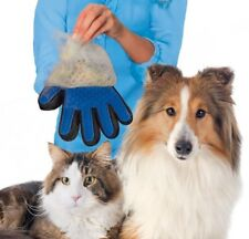 Pet Grooming Glove-Dogs & Cats with Long & Short Fur-Hair Remover-Brush Glove