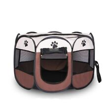PetForu® 8 Color Folding Pet Tent Cage Fence Playpen For Dogs Home Puppy Kennel